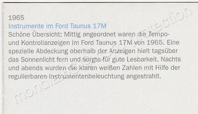 1965er Ford Taunus 17M 20M P5 • Coupe • Postkarte ⭐️ TOP Werbemotiv ⭐️ Rarität