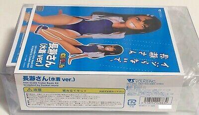 Charagumin non Nagatoro san swim costume figure build kit H13cm from japan