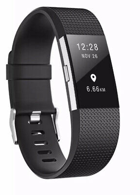 Fitbit Charge 2 Band Various Silicone Band Replacement Wristband Watch Strap New 11