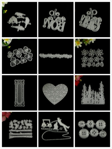 Design Metal Cutting Die For DIY Scrapbooking Album Paper Cards Embossing 4