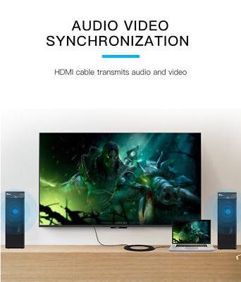 Cable hdmi 2.0 4K 60Hz ultra HD 2160p 3D Full HD HDTV Haute Vitesse 18GB 9