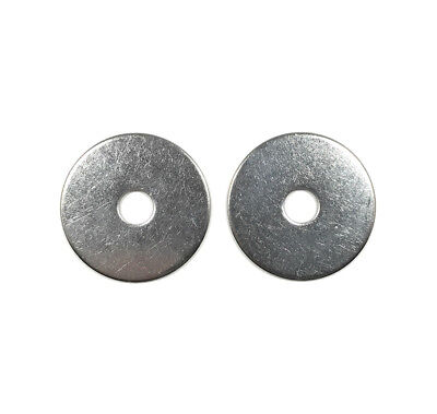 25 1//4 ID x 7//8 OD 316 Stainless Steel Fender Washer Large OD Flat Washers SS