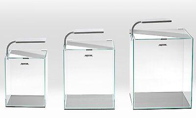 AQUAEL Nano Aquarium Shrimp Set 30 L weiss mit LED Beleuchtung inkl. Zubehör
