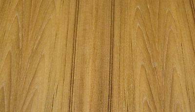 """Teak wood veneer sheet 24/"""" x 48/"""" with paper backer 1//40th/"""" thickness /""""A/"""" grade"""