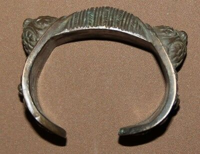 Antique Greek bronze fertility bangle bracelet