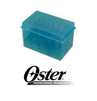 OSTER Clipper BLADE&ATTA​CHMENT GUIDE COMB STORAGE CASE Tote*Also For Wahl,Andis