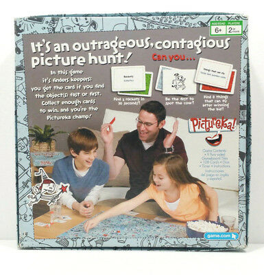 Pictureka Board Game by Parker Brothers Hasbro 2007 Family Fun Age 6 up 2