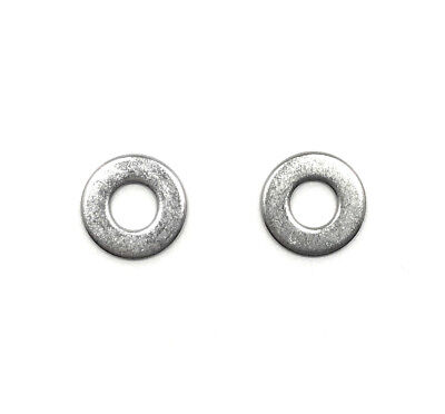 "(100) 1/4"" Stainless Steel Flat Washer (100 PCS) Fast Free Shipping"