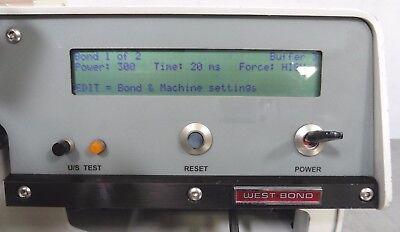 C139407 West-Bond 7700C Thermosonic Ball-Wedge Wire Bonder (refurbished) 6