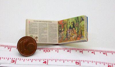 1113# Heile heile Gänsle Miniatur Bilderbuch M1zu12 Puppenstube Puppenhaus