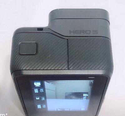 Used GoPro HERO 5 Black Waterproof Action 4K Ultra HD Camera Touch Screen Case 7