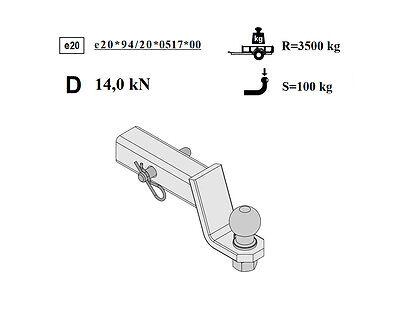 VOLVO XC90 2003-2007 C Anhängerkupplung Starr E-satz 13Pol spezifisch