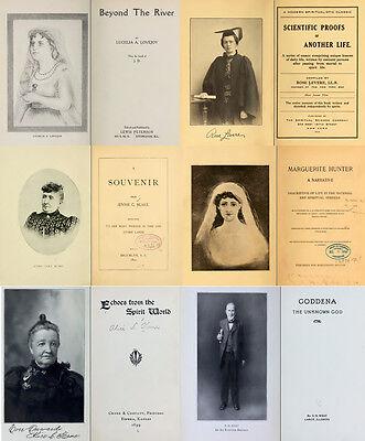 300 Rare Books On Spirits, Medium, Séances, Communication With The Dead On Dvd 10