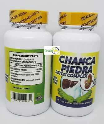 3 Chanca Piedra Peruvian material Kidney Stone Breaker 1000mg ChancaPiedra Cure 2