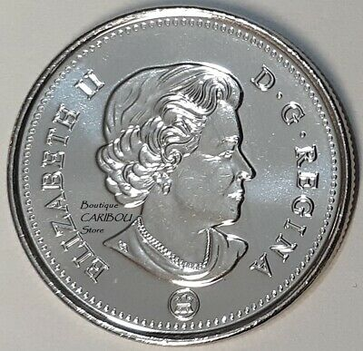 2020 Canada 50 Cents Coat of Arms BU 2