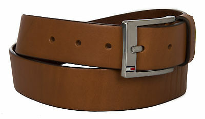 CINTURA UOMO PELLE belt TOMMY HILFIGER art. AM0AM01002