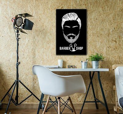 wall26 - Hair Style Canvas Wall Art - Barbershop Concept - Ready to Hang - 16x24 2