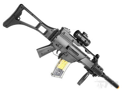 Double Eagle Airsoft Gun Semi Full Automatic Rifle M82 AEG Electric With Target