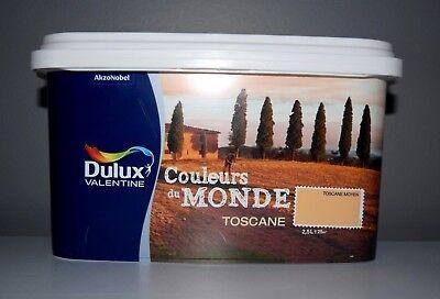 Peinture Dulux Valentine Couleurs Du Monde Toscane Moyen 2 5 L