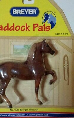 Breyer Paddock Pals Morgan Chestnut  Horse 1636 New in Package