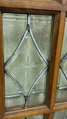Set Of Antique Bevel Glass Bi- Fold Doors 4