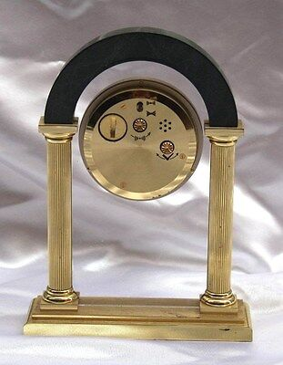 Magnificent French Quartz Jagard Alarm Table Clock 6