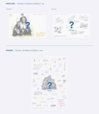 BTS MAP OF THE SOUL : 7 Album CD+Book+M.Book+Lyric+P.Card+Post+Sticker+F.Poster 7