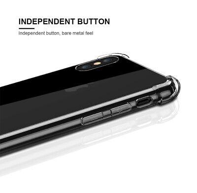 Antichoc Bumper Coque + Verre iPhone 11 Pro MAX XS XR / Silicone Case Protection 4