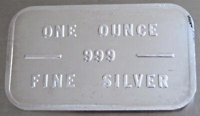 Bache Art Bar #308398 Pioneer Mint Kidd Pm-5 1981 .999 Fine Silver 1 Troy Oz 3
