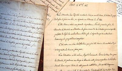 1815 Forc de Laboulaye Cultura Hon Epernay Explicación Politica Sur el Rey 4