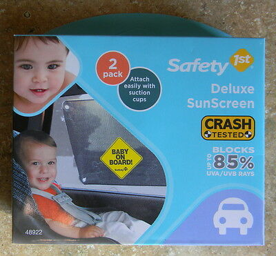 Safety 1st Baby On Board Deluxe Sunscreen 2 Pack