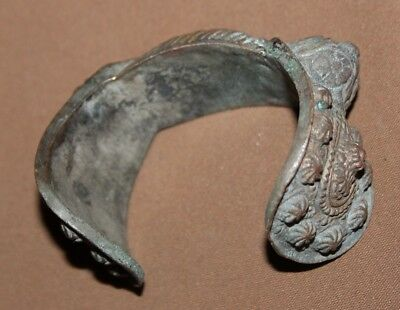 Antique Greek Orthodox bronze crusader fertility bracelet