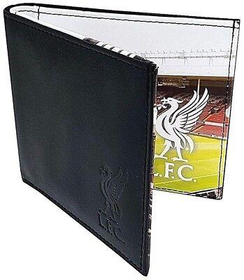 Liverpool Fc New Stadium Real Leather Money Wallet Football Sports Purse Lfc 2
