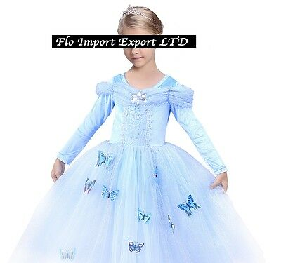 Vendita di liquidazione nuove foto stile popolare CENERENTOLA VESTITO CARNEVALE Cinderella Cosplay Costume Dress 567006LS - SD