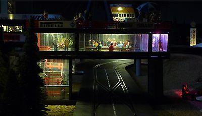 """5-STÜCK LED Beleuchtung für Carrera Tribüne in warmweiß /""""zum SONDERPREIS/"""" 7190-5"""