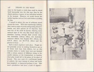 Stoker STRAWS IN THE WIND   Dardanelles  AUSTRALIAN SUBMARINE AE2  PoW in TURKEY 9