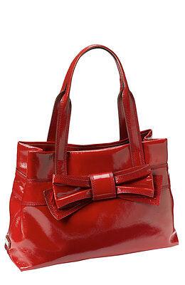 7 Of 9 Kate Spade Rare Dove Grey Patent Leather Handbag Claverly Mne Shoulder Bag