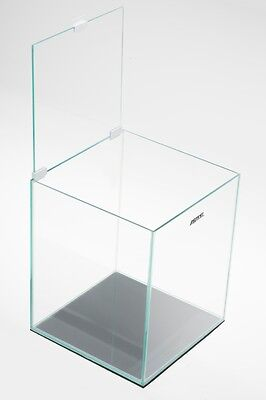 AQUAEL Nano Aquarium Shrimp Set 10 L schwarz mit LED Beleuchtung inkl. Zubehör 5