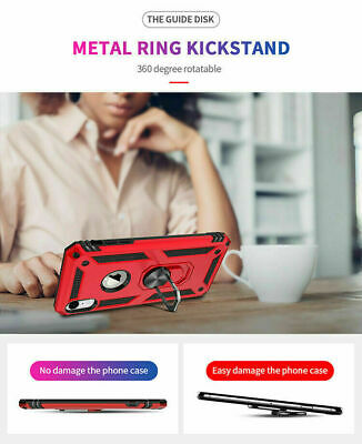 For iPhone 11 Pro XS Max XR 7 8 Plus Shockproof Magnetic Heavy Duty Case Cover 10