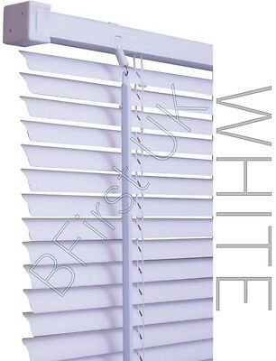Read to Fit Venetian Window Blind PVC Trimmable Easy to Cut Slats WITH BRACKETS 2