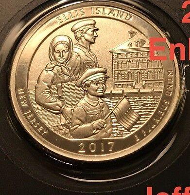 2017 S Park Quarters 225th Enhanced ATB 5 Coins via U.S.Mint Set Box COA Incl. 3