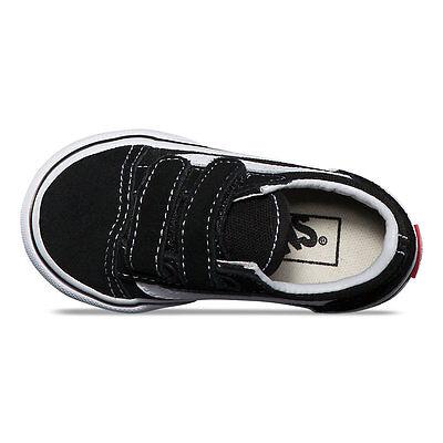 74e9f9f8c5b8a3 ... Vans Toddlers Old Skool V Black suede VN-000D3YBLK All Sizes 4-10 Fast
