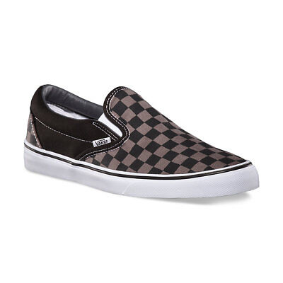 ... Vans CHECKERBOARD SLIP-ON BLACK PEWTER CHECKER Canvas Classic Shoes  Fast Ship 3 767e410ed