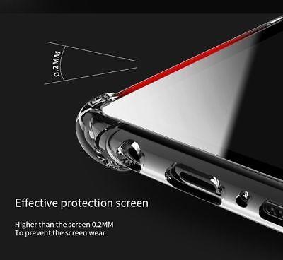 TPU Crystal clear 360°Soft Ultra thin Case Cover Samsung Galaxy S10 S7 Edge S8 + 7