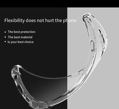 TPU Crystal clear 360°Soft Ultra thin Case Cover Samsung Galaxy S10 S7 Edge S8 + 9