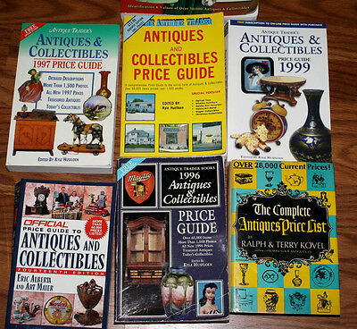 RARE Large ANTIQUE PRICE GUIDE BOOKS, Schroeder's, Lyle, Rinker. FREE SHIPr 2