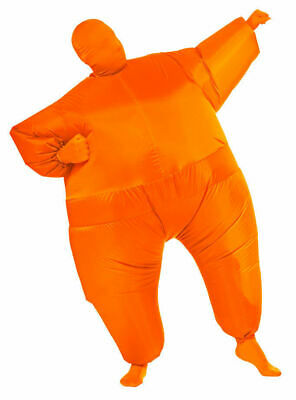 Inflatable Fancy Chub Fat Masked Suit Dress - Blow Up Christmas Party Costume 5