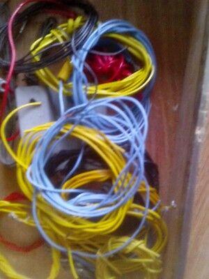 Faller + Maerklin Kabel in unterschiedlichen Farben und Laengen