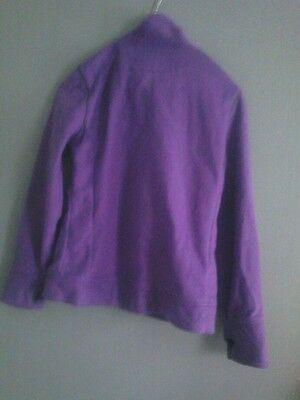 Girls Purple Ski Style Fleece 2