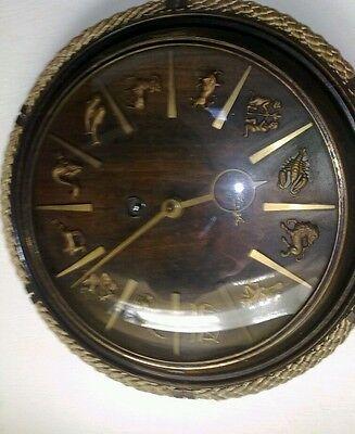 1950s kienzle zodiac wall clock in perfect working order.